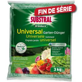 Engrais universel pour jardin 3 kg SUBSTRAL