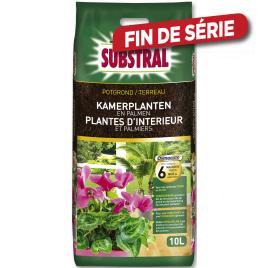 Terreau pour plantes d'intérieur 10 L SUBSTRAL