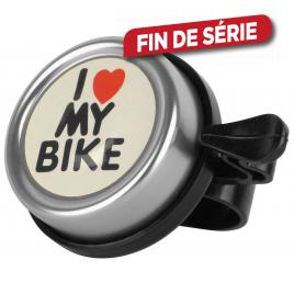 Sonnette pour vélo I Love My Bike