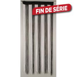 Porte provençale String 90 x 200 cm CONFORTEX - Blanc - Noir