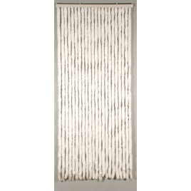 Porte provençale Castor 90 x 205 cm CONFORTEX - Blanc