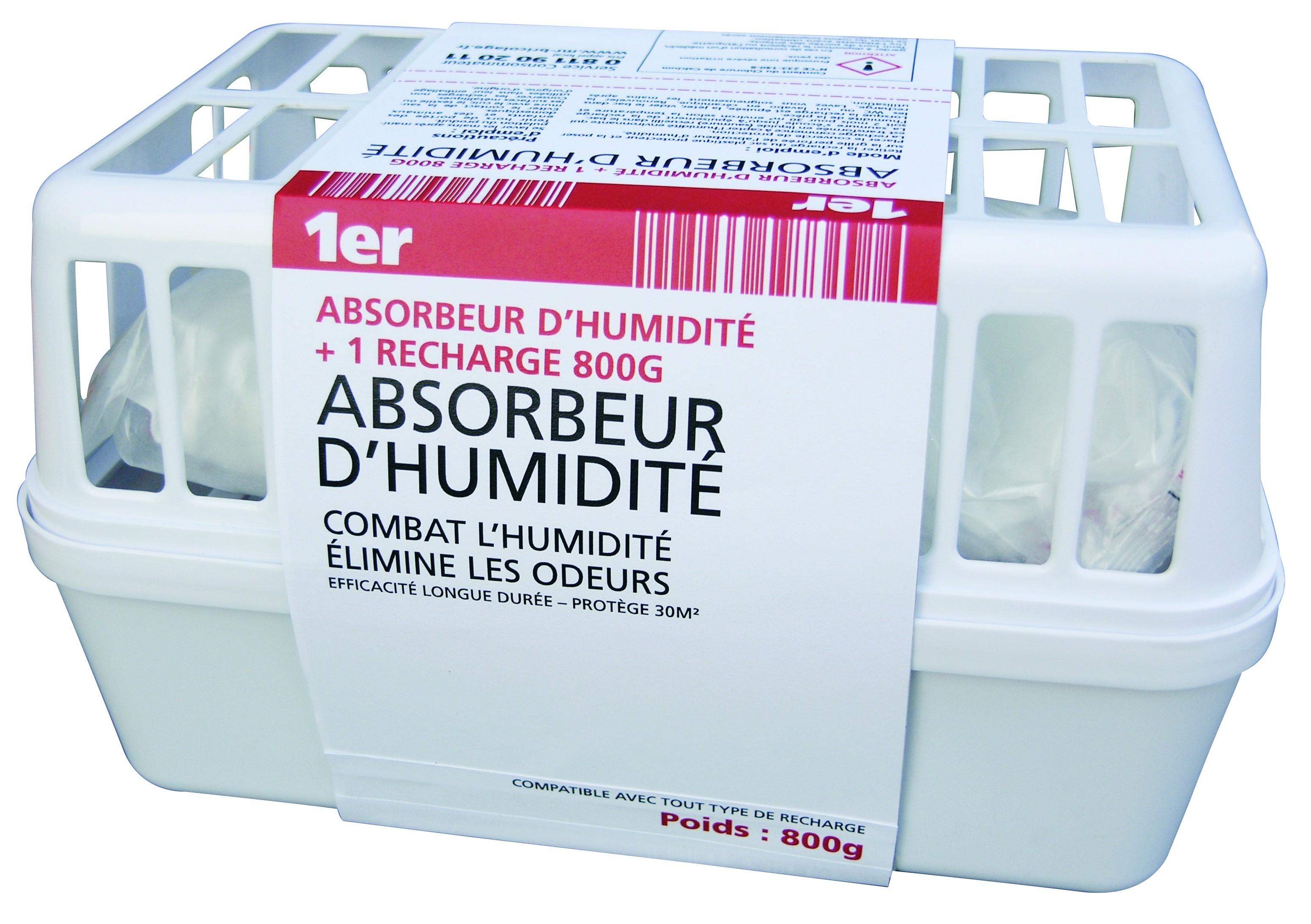 Absorbeur D Humidité Avis absorbeur d'humidité 1er - mr.bricolage