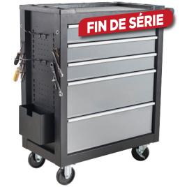 Servante d'atelier 5 tiroirs avec accessoires et set de tournevis BRICK