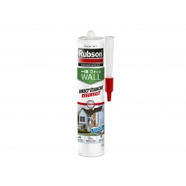 Mastic silicone Direct Etanche blanc 280 ml RUBSON
