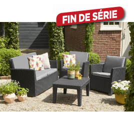 Beau Salon De Jardin Corona ALLIBERT