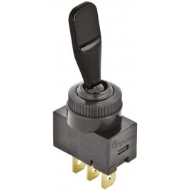 Interrupteur On/Off 12 V noir CARPOINT