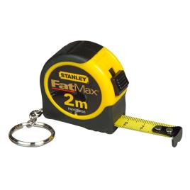 Mètre ruban porte-clés FatMax 2 m STANLEY