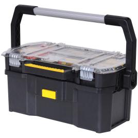 """Bac à outils avec boîte à compartiments 19"""" STANLEY"""