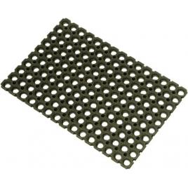 Paillasson caoutchouc noir 40 x 60 cm ADVOTEX