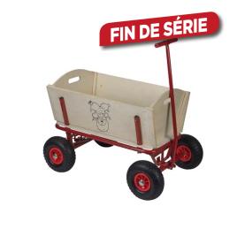 Chariot en bois Lutin plop