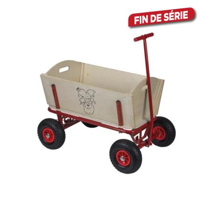 chariot en bois lutin plop. Black Bedroom Furniture Sets. Home Design Ideas
