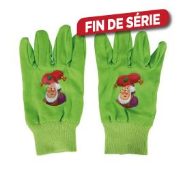 Gants de jardin pour enfants Lutin plop - 4-7 ans