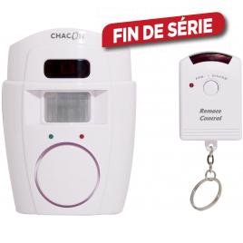 Alarme avec détecteur de mouvement et télécommande CHACON