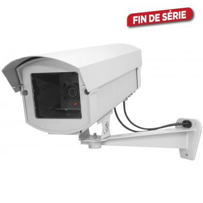 Caméra factice en aluminium avec LED CHACON