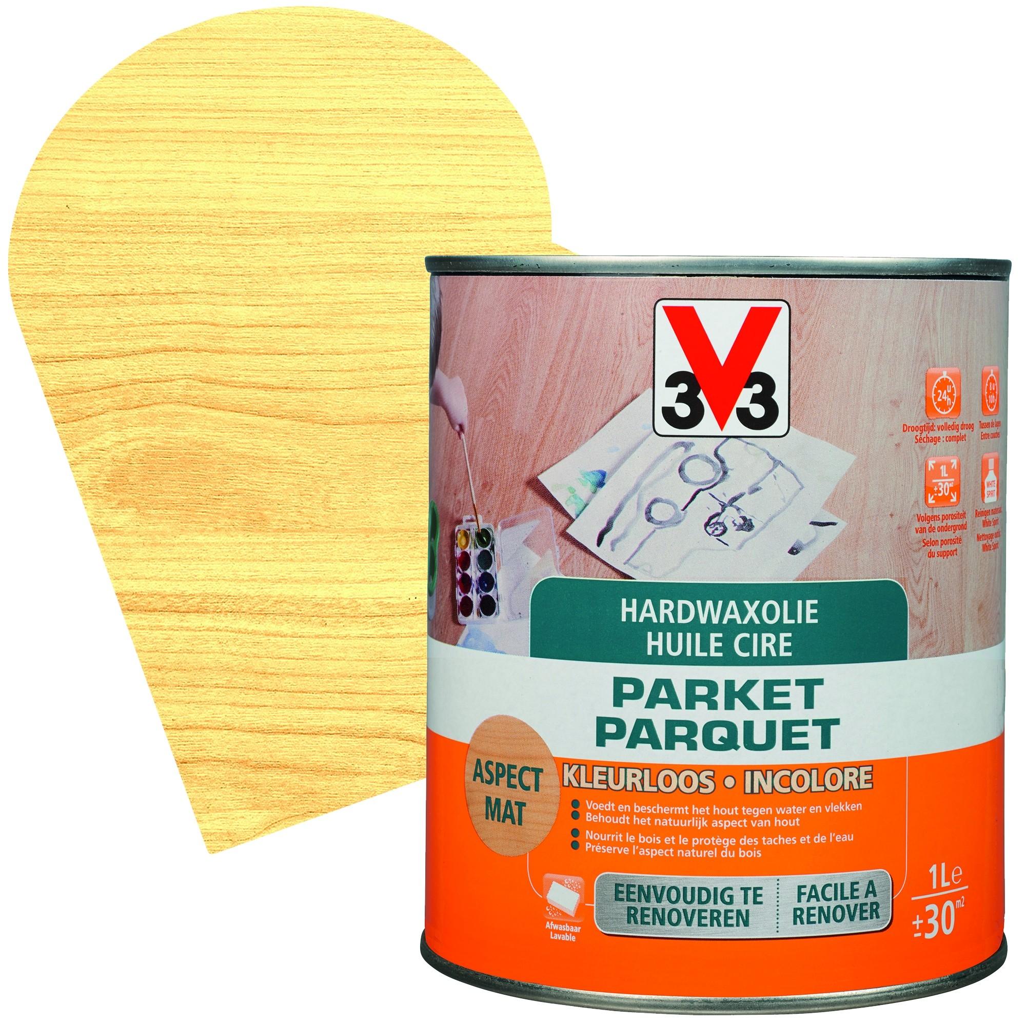 Tache D Eau Sur Bois Ciré huile cire parquet incolore mat - mr.bricolage