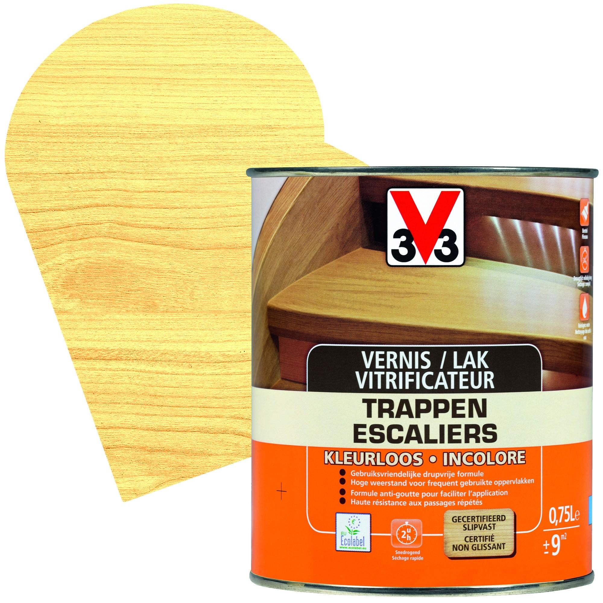 Vernis Ou Vitrificateur Sur Un Meuble Peint vitrificateur escaliers incolore - mr.bricolage