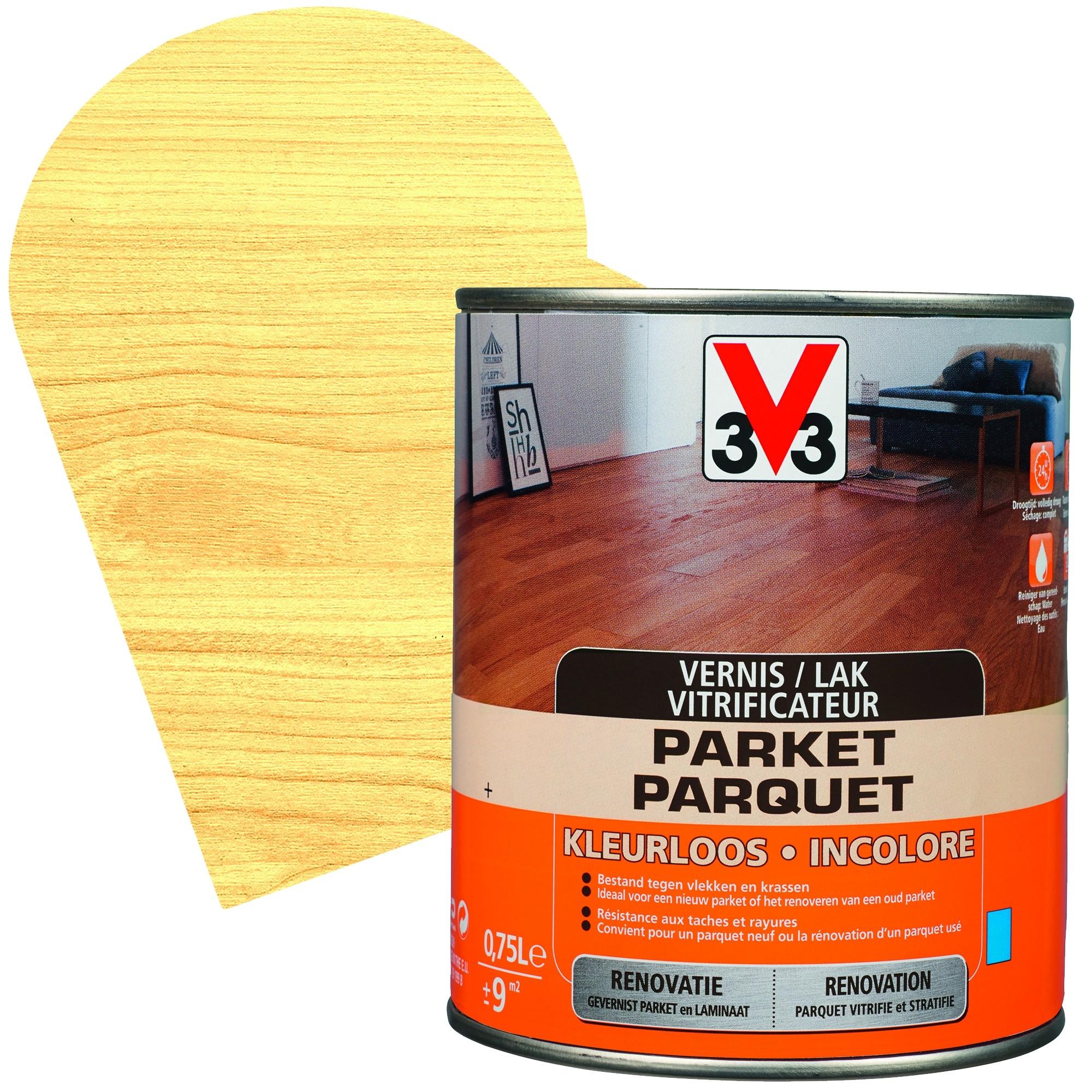 Vernis Ou Vitrificateur Sur Un Meuble Peint vitrificateur parquet incolore - mr.bricolage