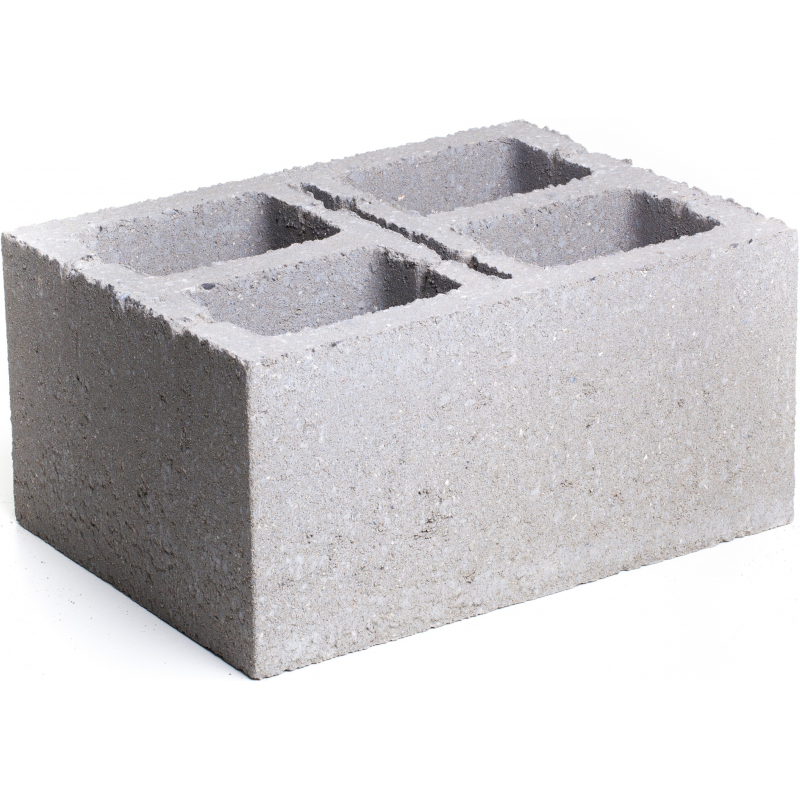 Bloc De Beton 39 X 29 X 19 Cm