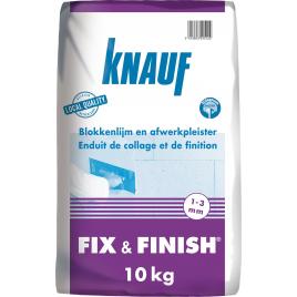 Enduit de collage et de finition Fix & Finish KNAUF
