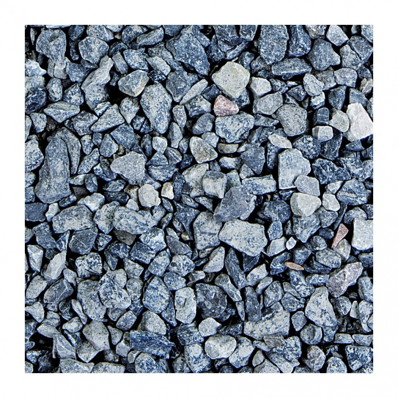 Gravier concass gris 6 13 14 mm 40 kg for Jardin gravier gris