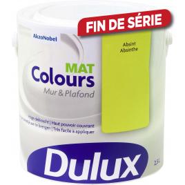 Peinture Colours mur et plafond DULUX