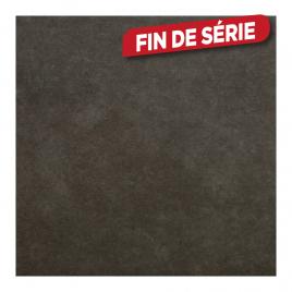 Carrelage de sol anthracite Cementino 60 x 60 cm 4 pièces