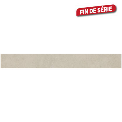 Plinthe blanche Cementino 7,2 x 60 cm