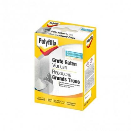 Reboucheur grand trou gris 1 kg POLYFILLA