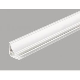Moulure de plafond PVC blanc DUMAPLAST 260 cm