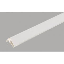 Moulure en coin PVC 260 cm blanc DUMAPLAST