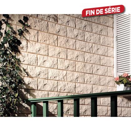 Plaquette de parement Decor Euroc 1 beige