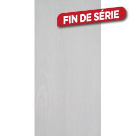 Lambris PVC 260 x 37,5 cm Ecorce gris DUMAPAN