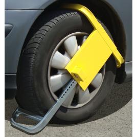 Bloc-roue antivol pour voiture