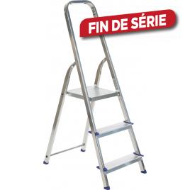 Escabelle en aluminium Easy Step 3 marches ESCALO