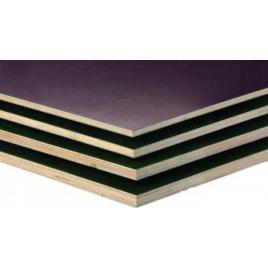 Panneau contreplaqué Bétonplex eucalyptus combi 125 x 250 cm - 15 mm