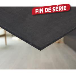 Panneau MDF noir 122 x 244 x 1,8 cm