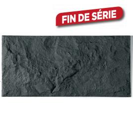 Plaquette de parement Euroc 20 anthracite - Droite