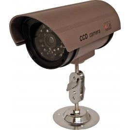 Caméra factice extérieure avec LED