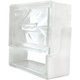 Brique de verre Ventibloc 19 x 19 x 8 cm