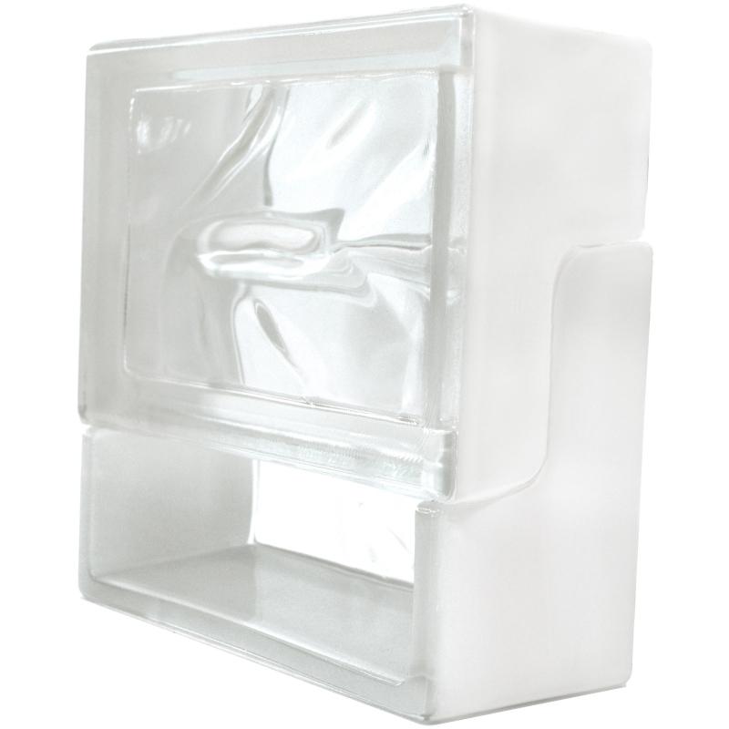 brique de verre ventibloc 19 x 19 x 8 cm. Black Bedroom Furniture Sets. Home Design Ideas