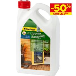 Decrassant bois extérieur 2.5L XYLADECOR