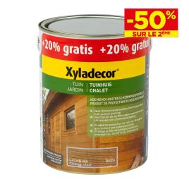 Lasure chalet protection du bois respirant 2.5 + 0.5 L Promopack XYLADECOR