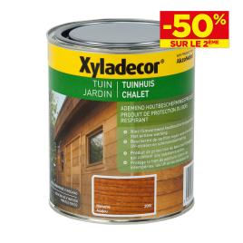 Lasure chalet ton bois protection du bois respirant XYLADECOR