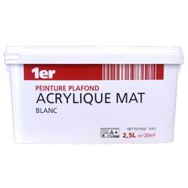 Peinture plafond acrylique mat 2,5 L MR BRICOLAGE