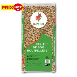 Sac de pellets feuillus 14 kg B.PELLET