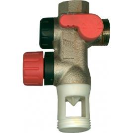 Groupe de sécurité sanitaire pour boiler électrique SANINSTAL