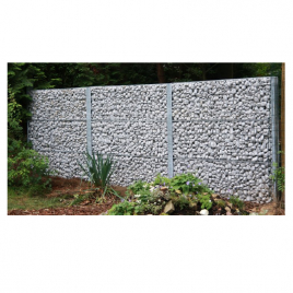 gabion como giardino. Black Bedroom Furniture Sets. Home Design Ideas