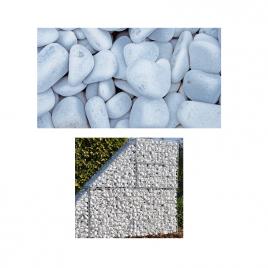Pierre Alpi blanc pour gabion GIARDINO - mini bag 0.11m³
