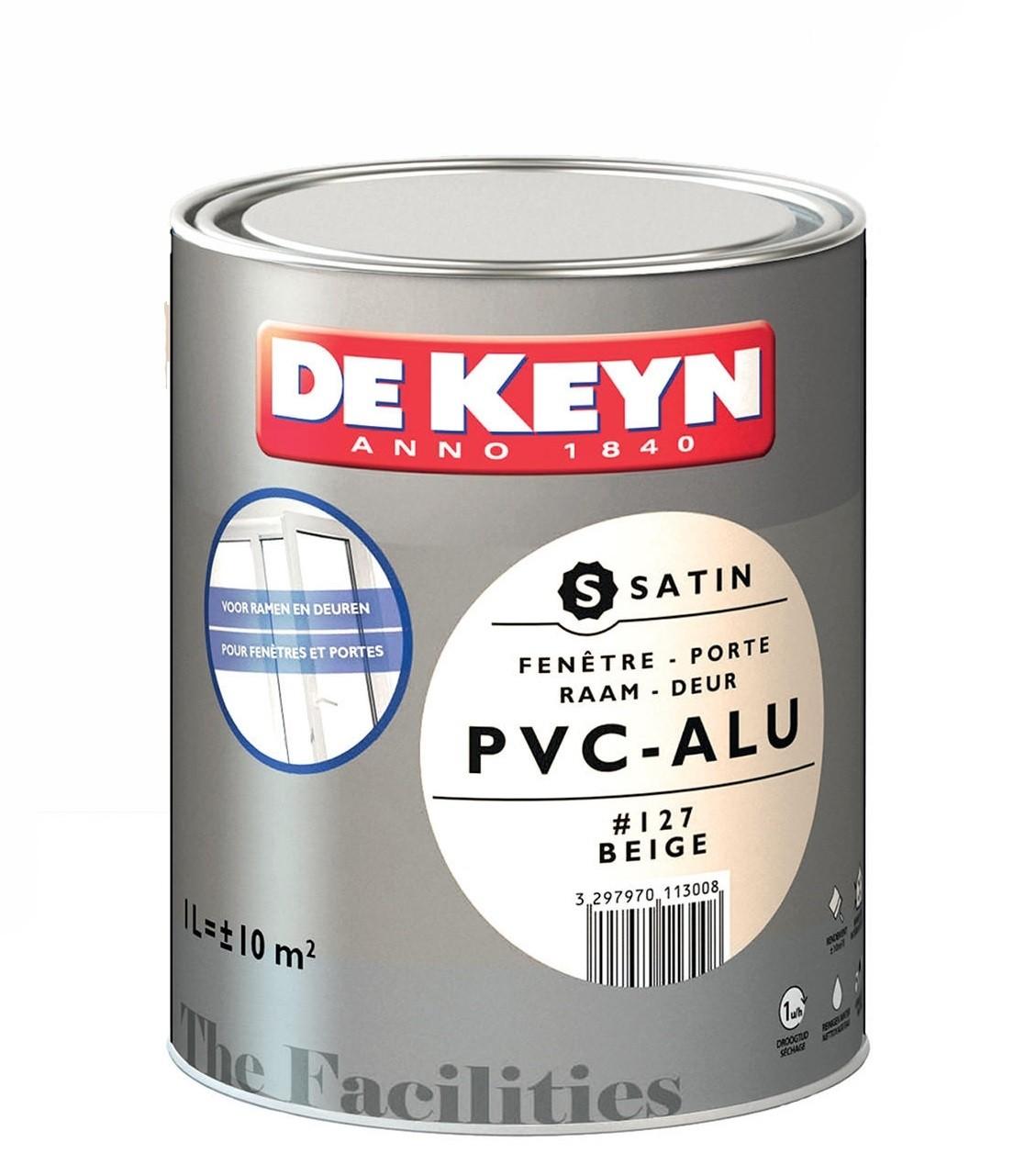 Peindre Fenetre Pvc En Gris peinture pvc alu 1 l de keyn