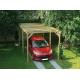 Carport en bois Maranello 5 x 3 x 2,44 m